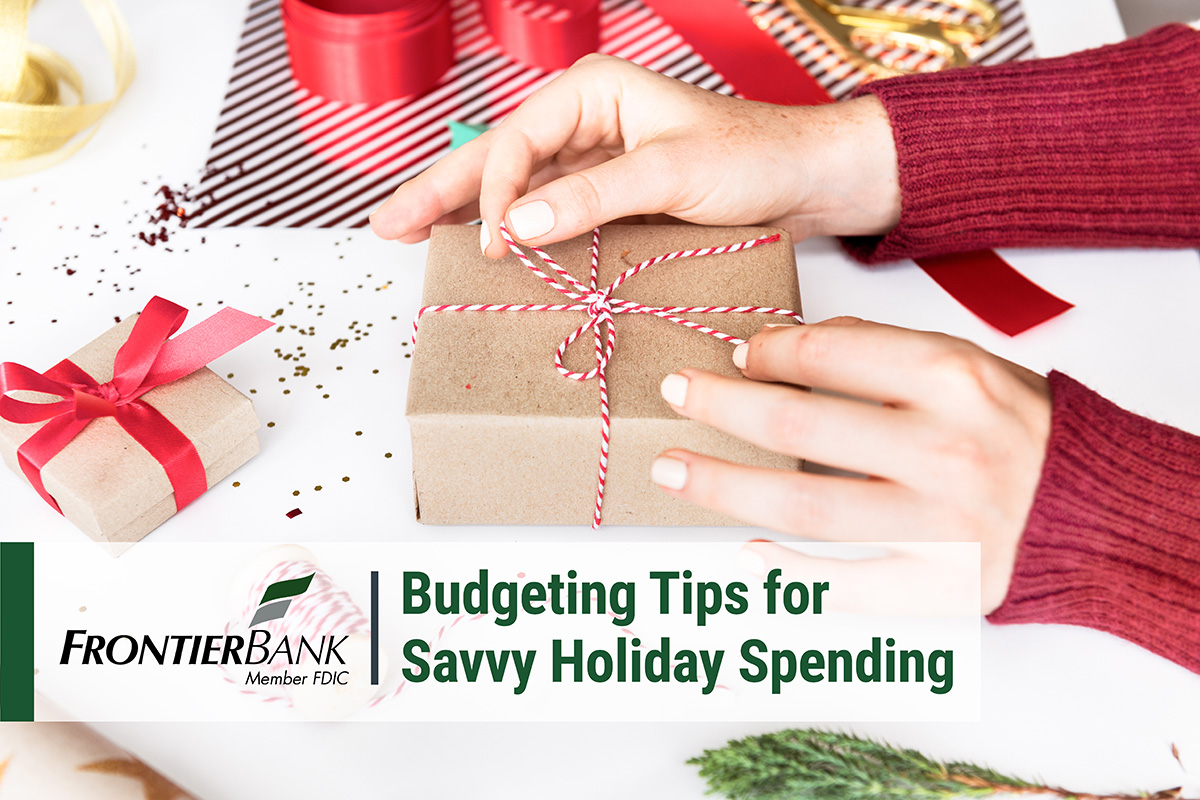Holiday Spending Title Graphic