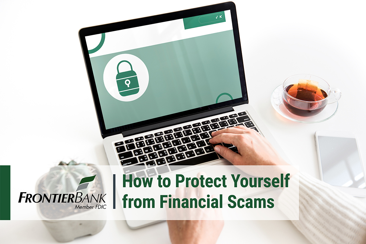 Financial Scams Title Card