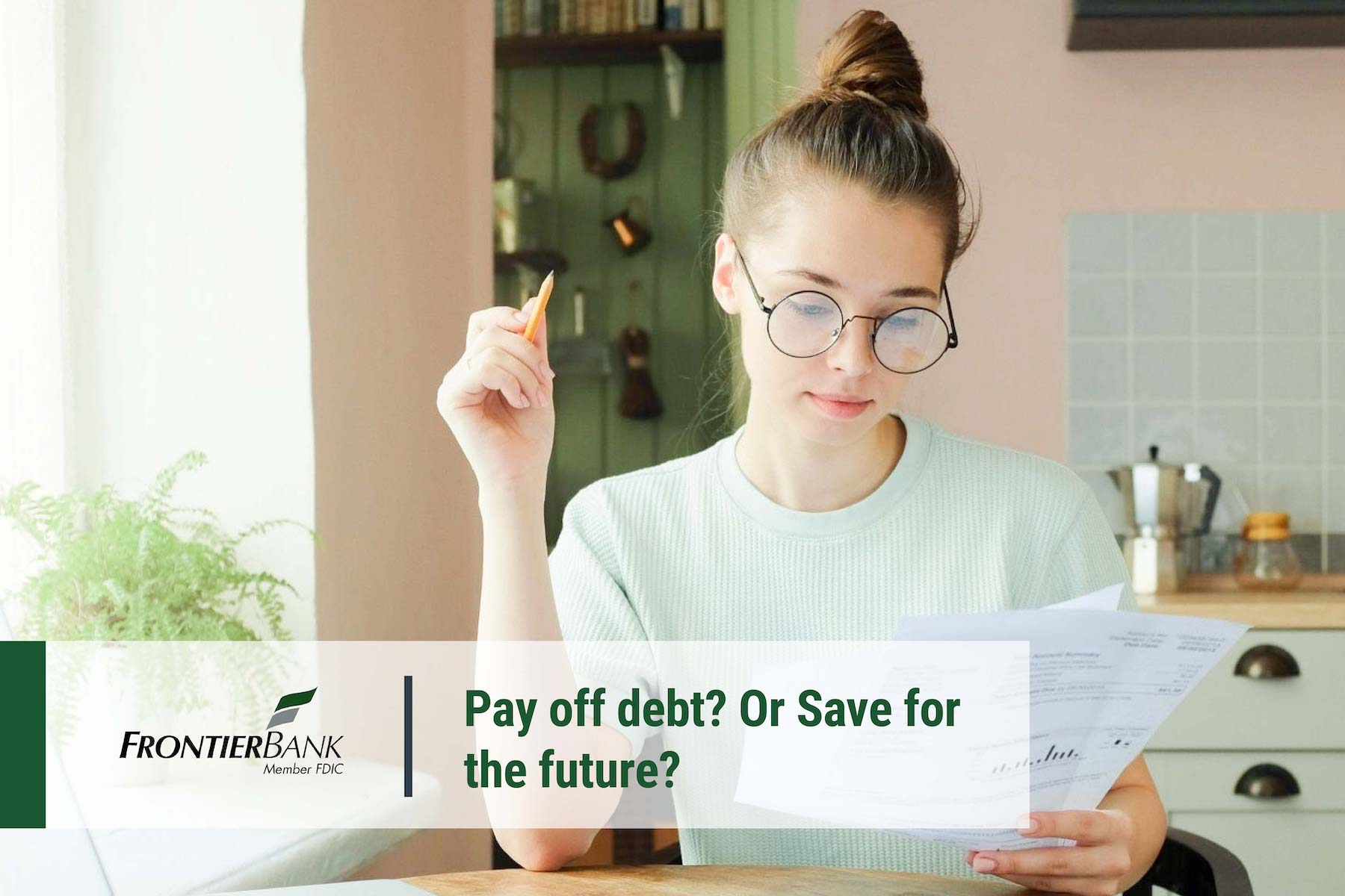 Pay off Debt or Save for the future